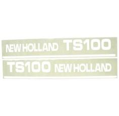 Autocollant New Holland TS100 - Set