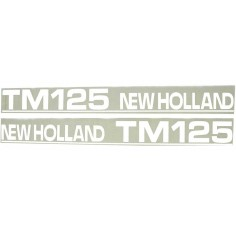 Autocollant New Holland TM125 - type ancien