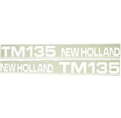 Autocollant New Holland TM135 - type ancien