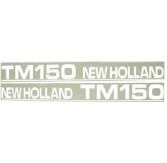 Autocollant New Holland TM150 - type ancien