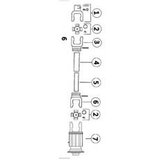 CARDAN ANDAINEUR  TWIN330/342/QUAD344