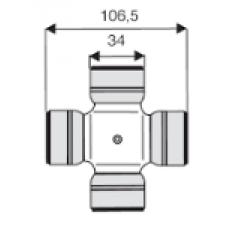 CROISILLON  34    x  106,5