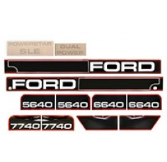 Kit Autocollant Ford NH 7740