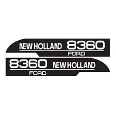 KIT AUTOCOLLANT FORD 8360