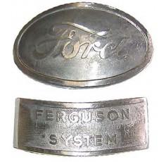 Jeu de Badge Fordson 9N 2N &
