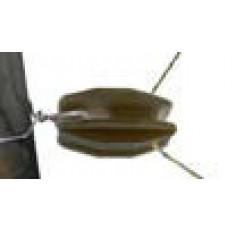 Isolateur oeuf polyéthylène NOIR pour extrémités et angles (Carton de 100)
