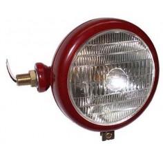 Tête de lampe rouge LH c / w Logo objectif Tracteur