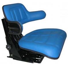 Siège tracteur couleur bleue - Réglage de la hauteur 4mm