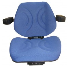 Tissu Accoudoir siège pliable Bleu