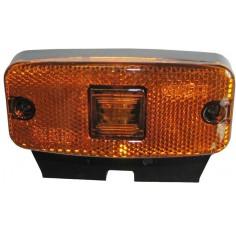 Lampe Marker Laterale C / W Support Ambre 12/24V