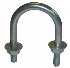 U Boulon de M10 x 50mm c / w écrous et rondelles