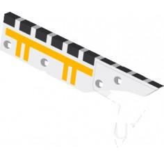 Contre-sep droite avec plaquettes carbure équerres et rechargement, montage avec CSDES227 D marque Demblon - EA 0 - Diamètre 12.00mm