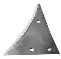 Étrave droite 3 trous avec plaquettes carbure marque Kuhn Huard - EA 0 - Diamètre 12.00mm