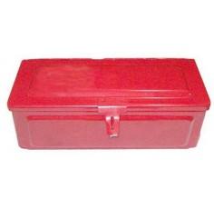 Rouge Boîte à outils des petites