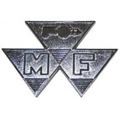 Badge 65 Triangle Chrome