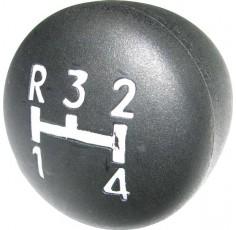 Pommeau de levier MF148 1 2 3 4 R Type d'origine