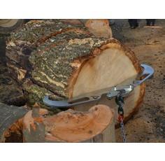 Pince buche pour treuil de fendeuse à bois, adaptable nombreuses marques