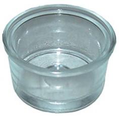 Filtre profon bol en verre