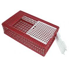 Cage de transport plastique avec porte f