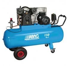Compresseur mono-étagés PRO à courroie 3cv - 150L - 26m3/h - 400V/50Hz - 10 Bars