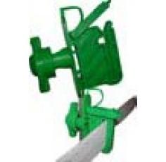 Isolateur VERT sécurisé tous fils et rubans / piquets bois ou bétons (Crebox de 15)