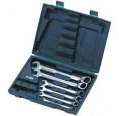 Coffret de 6 clés mixtes à cliquet réversible GEARPlus - 6 pièces