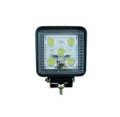 FEU 5 LEDS 15W 30°CARRE 100MM 12/24V (BO