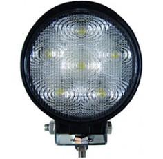 FEU 6 LEDS 18W 60°ROND 116MM 12/24V (BOX