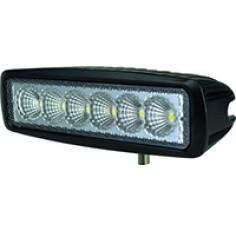 FEU 6 LEDS 18W RECT.160x45 10/30V STELEC
