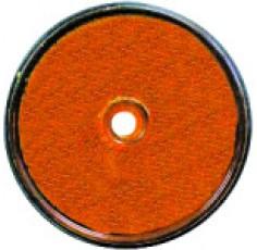 CATADIOPTRE ROND ORANGE D.60mm