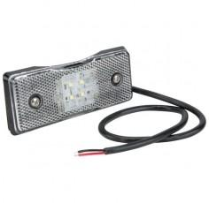 Feu de gabarit LED rectangle blanc