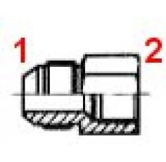 UNION M/F GAZ 9/16J-1/4G