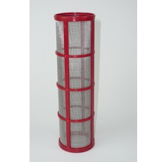 """Tamis Inox Rouge (Filtre 1""""1/4 ou 1""""1/2) 50 Mailles"""