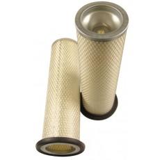 Filtre à air sécurité pour moissonneuse-batteuse LAVERDA 256 LCS moteurIVECO 2008->