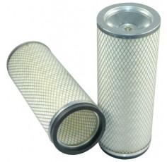 Filtre à air sécurité pour chargeur KOMATSU WA 470-3H moteur KOMATSU S 6D 125-1