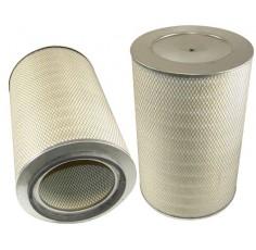 Filtre à air primaire pour chargeur CASE-POCLAIN W 30 moteur IHC