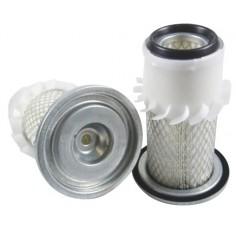 Filtre à air pour tondeuse RANSOMES T 20 moteur KUBOTA