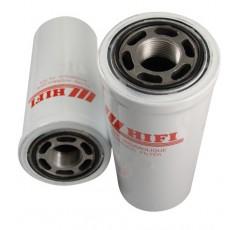 Filtre hydraulique pour tractopelle FIAT HITACHI FB 100 moteur FORD
