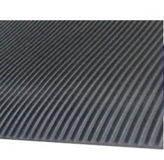 Tapis Caoutchouc stries fines 3mm - larg.1.20m (m²)