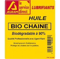 Huile tronçonneuse ISO 100 SP CHAINE BIO 60L