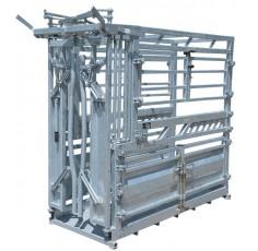 Cage de contention Galvazinc+Plus pour vaches laitières