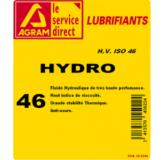 Huile hydraulique HYDRO HV 46 5L