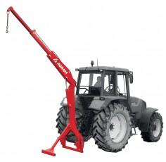 Lève sac hydraulique sur tracteur