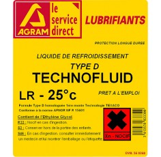 Liquide refroidissement LR-25 Universel 5l