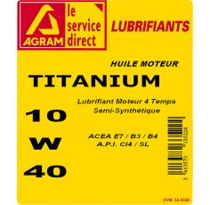BIDON GALIUM 10W40-5L
