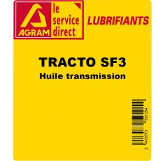 Huile transmission TRACTANS SF3 - 5L