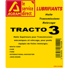 Huile transmission TRACTANS SF3 - 60L
