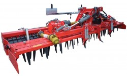 herse rotative repliable agricole