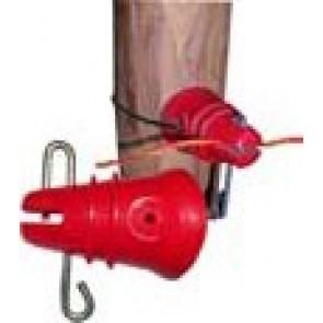 Isolant pour fil avec goupille et fixation par fil (carton de 1000)