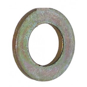 Rondelle plate 1 1/2 ''Zinc plaqué lourd